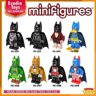 Bộ 8 minifigure siêu anh hùng Batman – PG8026