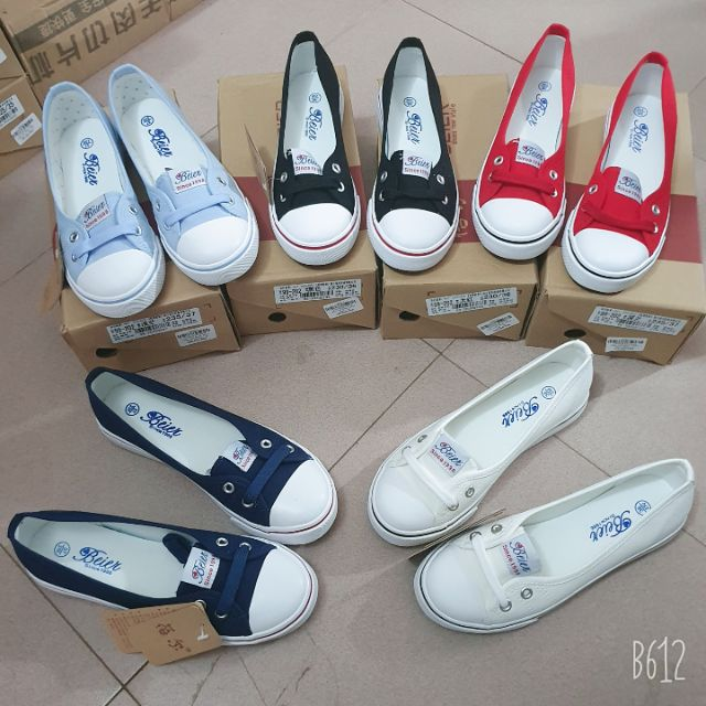 (Ảnh thật) Giày lười nữ, Giày lười vải nữ - SP52