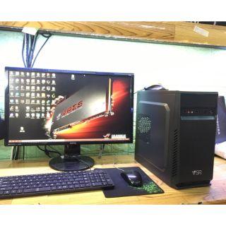 Thùng máy bàn làm văn phòng , phottoshop, corel và phím chuột mới