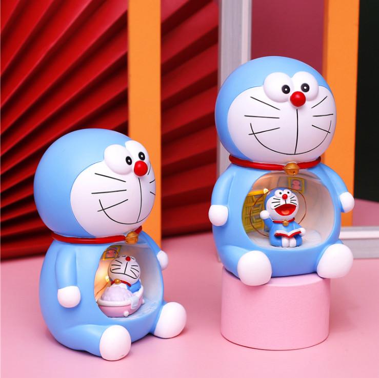 Đèn ngủ DORAEMON  Đèn Led Trang Trí Phòng Ngủ Siêu Dễ Thương siêu cute