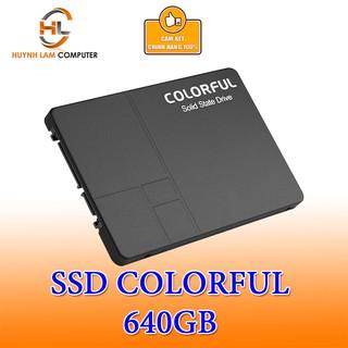 [ELCL100K gia m max 100K đơn 700K] Ổ cứng SSD 640GB Colorful SL500 chính hãng NWH Phân phối thumbnail