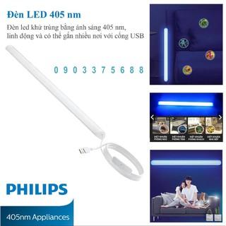 Bộ đèn diệt khuẩn LED Sanitization 5w Violet 5v USB thương hiệu Philips