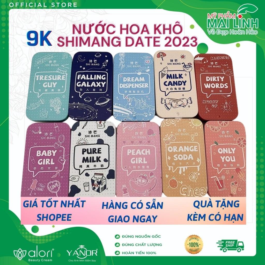 Nước Hoa Khô SHIMANG 💝FREESHIP💝 Sáp Khô SHI MANG - Nước Hoa Mini Bỏ Túi Lưu Hương 4 - 6 Tiếng