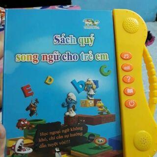 [siêu hời] sách nói song ngữ cho trẻ có kể truyện và bài hát thiếu nhi