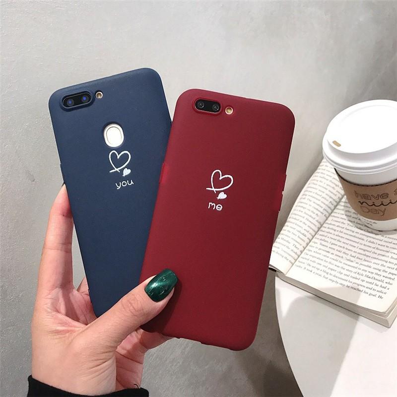 Ốp Lưng Silicon Họa Tiết Trái Tim Dễ Thương Cho Huawei Glory 9/10/v9/v10 P10/p20
