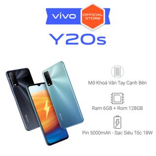 """Điện Thoại Vivo Y20s 6GB + 128GB - Hàng Chính Hãng giá chỉ còn <strong class=""""price"""">425.000.000.000đ</strong>"""