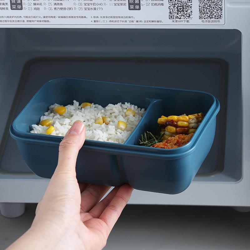 Hộp cơm giữ nhiệt văn phòng Peace In Lunch Box 850ml 2 ngăn có thể hâm nóng trong lò vi sóng màu pantone cực sang chảnh