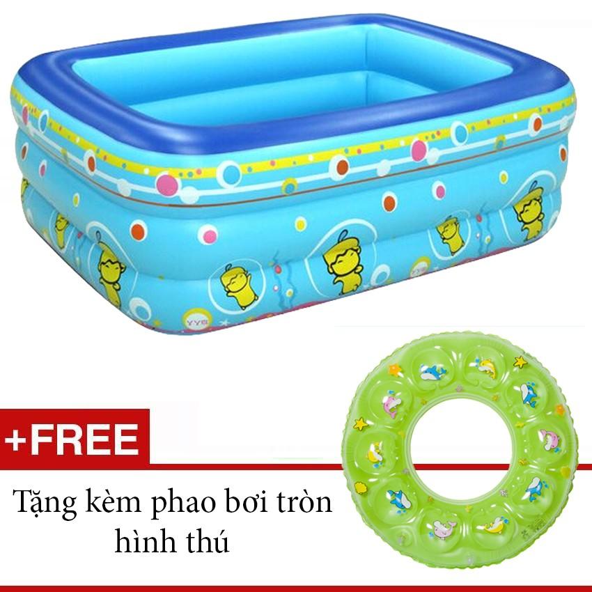 Bể bơi 3 tầng xanh dương+ tặng phao bơi tròn - 9969413 , 302086679 , 322_302086679 , 270000 , Be-boi-3-tang-xanh-duong-tang-phao-boi-tron-322_302086679 , shopee.vn , Bể bơi 3 tầng xanh dương+ tặng phao bơi tròn