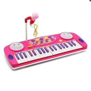 Đàn organ điện tử cho bé yêu An Store (Hồng)[Tmarkvn]