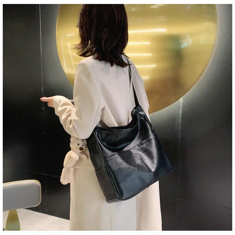 Túi đeo chéo Unisex Ulzzang Da Dây Dù Tiện Dụng Mẫu Mới 2021 TTI15