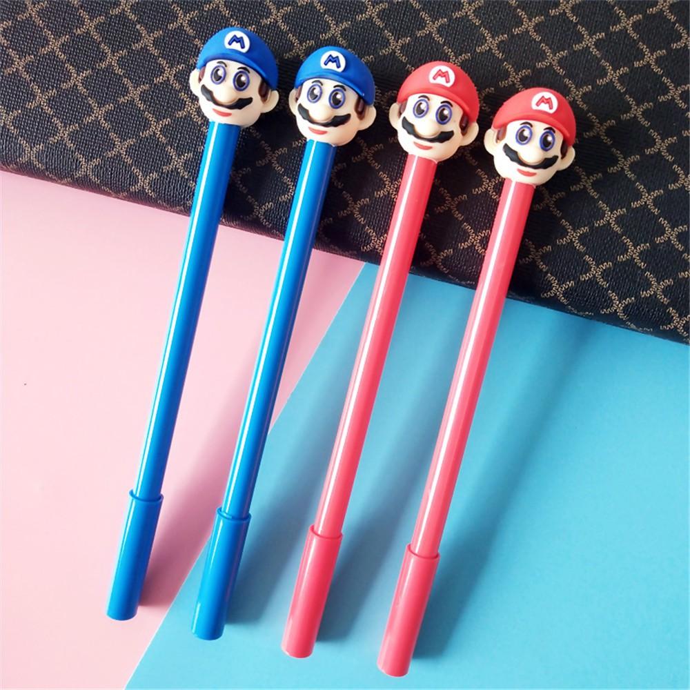 New Uncle Beard Black Gel Ink Pen Cute Writing Pencil Office School 0.5mm