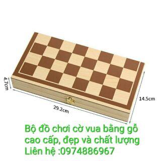 [ GIÁ RẺ NHẤT] Cờ vua gỗ cao cấp giá bán sỉ