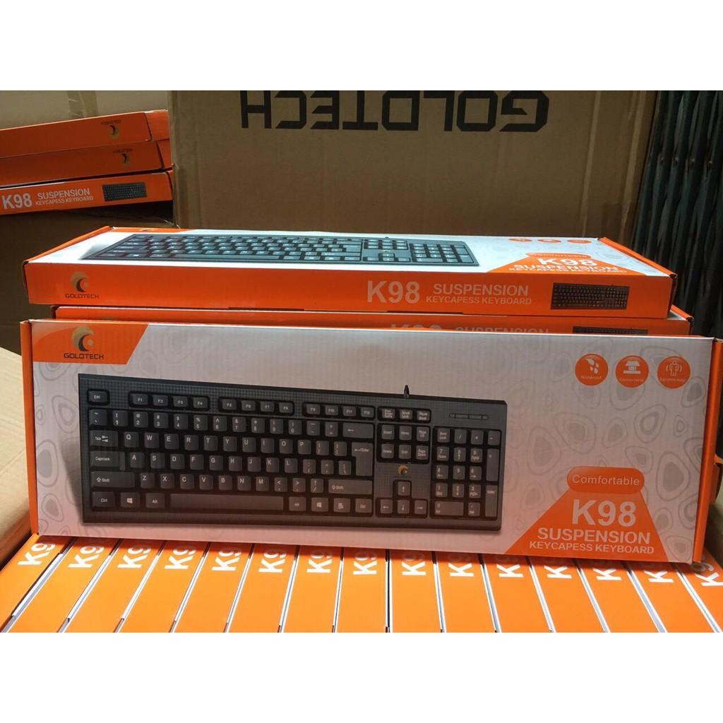 Bàn phím R8 Bosston Mini Fortech KB132 Gaming cực êm