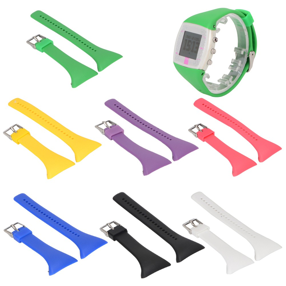 Cash on delivery Secolily.th  Luxury Silicone Band Strap For POLAR FT4 FT7 FT Series Universal Strap