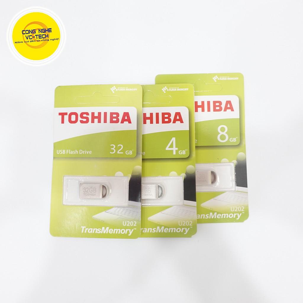 USB Toshiba 4GB/8GB/16GB/32GB mini 2.0 | Hàng chính hãng BH 12 tháng