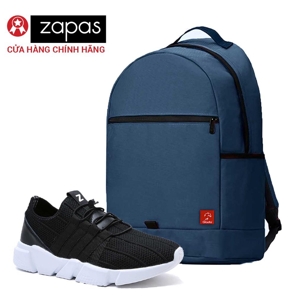 Combo Balo Du Lịch Glado Classical BLL006 (Xanh Dương) Và Giày Sneaker Thể Thao Zapas GZ016 (Đen) - 2995221 , 533984536 , 322_533984536 , 630000 , Combo-Balo-Du-Lich-Glado-Classical-BLL006-Xanh-Duong-Va-Giay-Sneaker-The-Thao-Zapas-GZ016-Den-322_533984536 , shopee.vn , Combo Balo Du Lịch Glado Classical BLL006 (Xanh Dương) Và Giày Sneaker Thể Thao