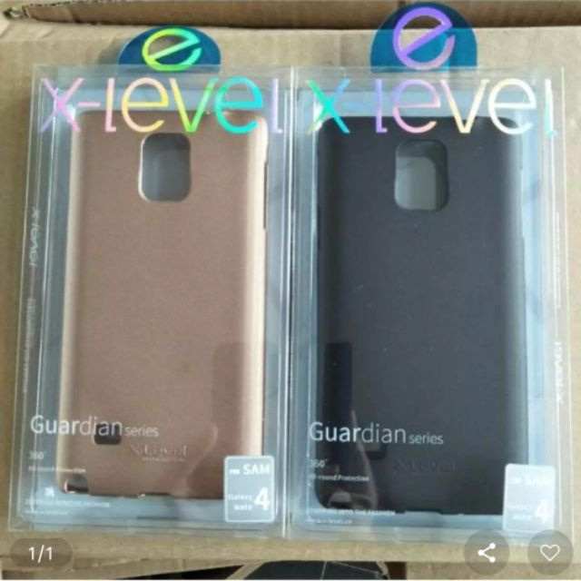 Ốp dẻo Galaxy Note 4 hiệu X-Level chính hãng