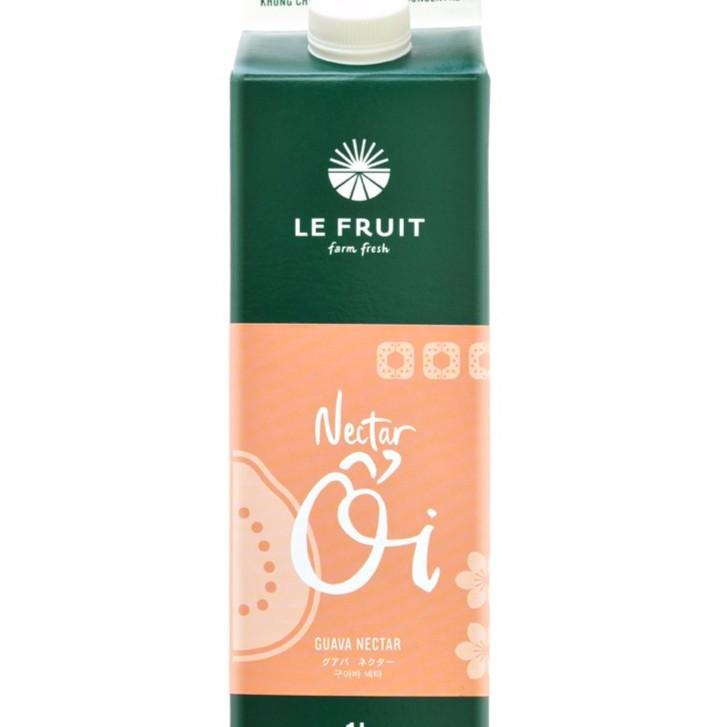 [FREESHIP TỪ 99K] Nước ép trái cây nectar ổi Le Fruit hộp 1L