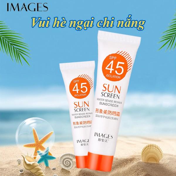 Kem chống nắng dưỡng da Images SPF45 PA+++ 15g kem chống nắng ZD-S10