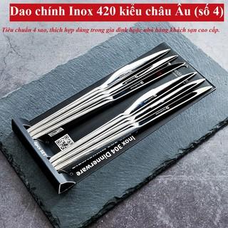 [SALE] Bộ 6 dao ăn bít tết inox DandiHome 2020 cao cấp, sang trọng, tinh tế