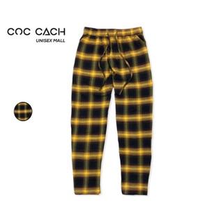 Quần vải baggy caro unisex Qccs1 - by COC CACH thumbnail