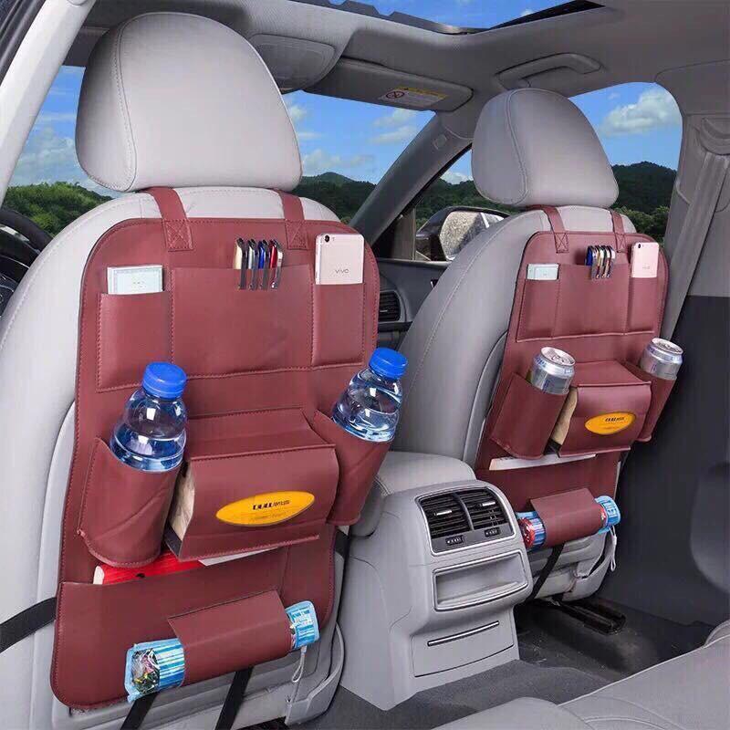 Túi để đồ cài sau ghế ô tô
