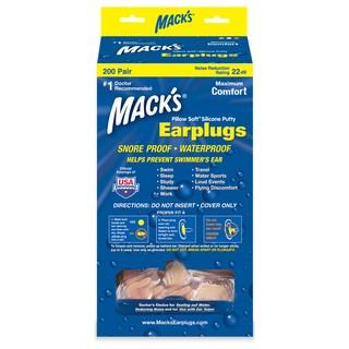 Hộp 200 đôi nút bịt tai Pillow Soft chất liệu Silicon thương hiệu Mack s - Nhập khẩu Mỹ thumbnail