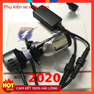 Yêu ThíchĐèn Pha Led Bi Cầu M01B [ Siêu Sáng ] _ Chân H4_ RTD Mẫu Mới 2020