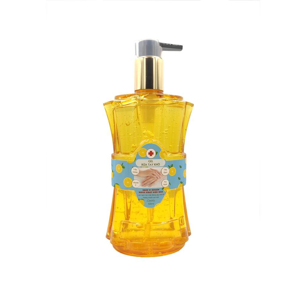 Gel rửa tay khô Cenota, sạch vi khuẩn bảo vệ da tay 320ml