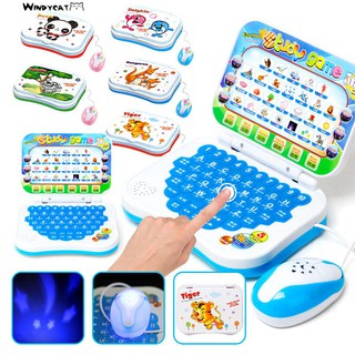 Early al Computer Toy Kids Boys Girls English Learn Machine