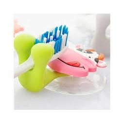 ⚡ Giá Sĩ ⚡ Dụng Cụ Kẹp Bàn Chải Dánh Răng Hình Thú (Nhiều Hình) - Siêu Tiện Lợi