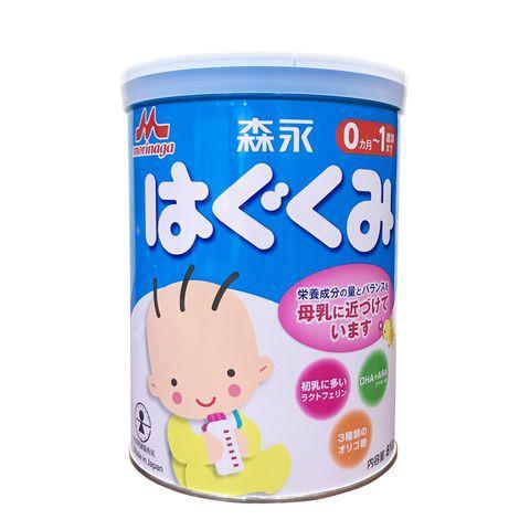 Sữa Morinaga 0 810g nội địa Nhật date 7/2019