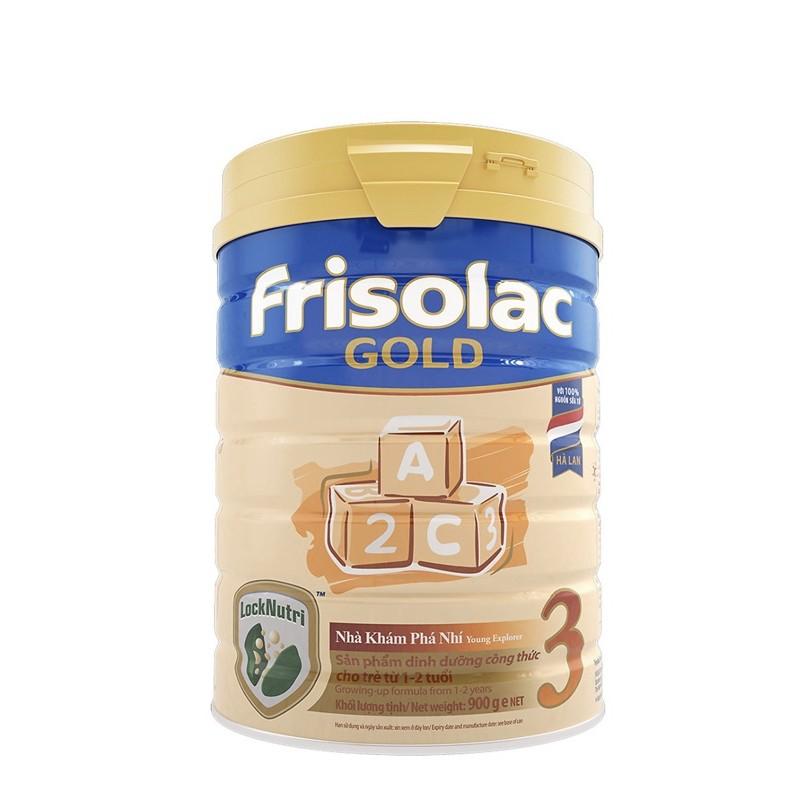 Sữa Bột Frisolac Gold 3 900g-Hộp móp