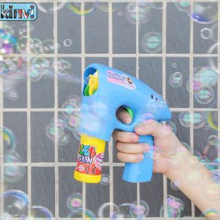 Súng thổi bong bóng có đèn LED cho bé
