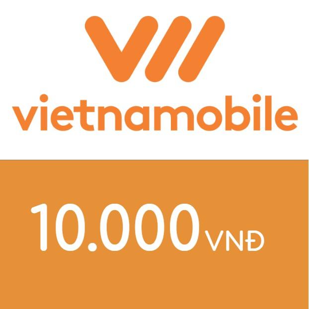 Nạp điện thoại Vietnamobile 10K