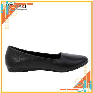 Giày nữ - gia y da nu HT.NEO da bò thật 100% da siêu mềm, kiểu dáng siêu đơn giản, cực êm chân NU04 thumbnail