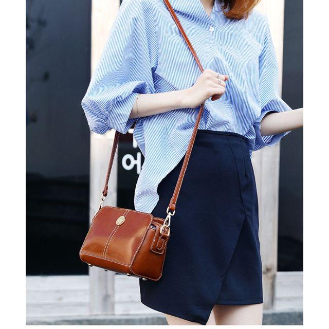 Túi đeo chéo nữ phong cách thời trang Hàn Quốc