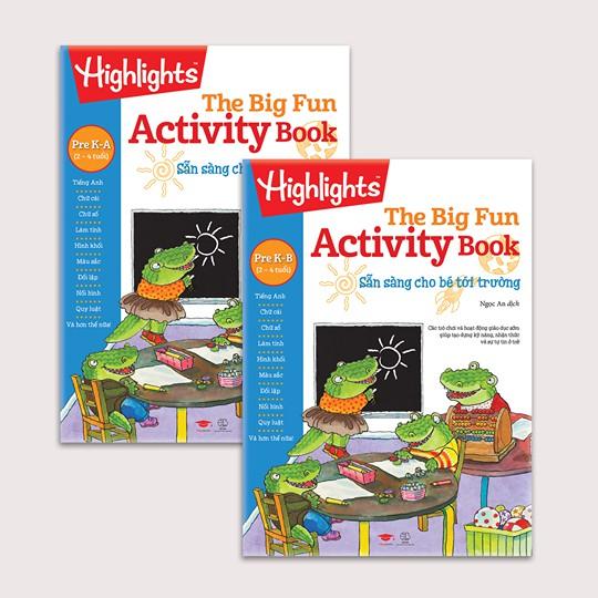 Sách Big Fun Activity Book - Sẵn sàng cho bé đến trường 2-4 tuổi - 14118720 , 1695765289 , 322_1695765289 , 330000 , Sach-Big-Fun-Activity-Book-San-sang-cho-be-den-truong-2-4-tuoi-322_1695765289 , shopee.vn , Sách Big Fun Activity Book - Sẵn sàng cho bé đến trường 2-4 tuổi