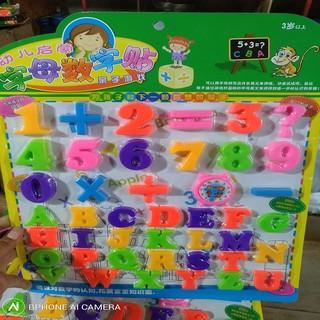 Vỉ học đếm và nhận biết mặt chữ cái cho bé yêu