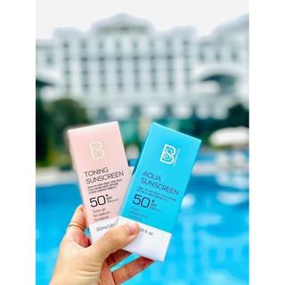 Kem Chống Nắng Dưỡng Ẩm SPF50+ PA++++ BS Cosmetics Hàn Quốc