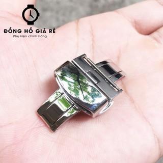 Khóa bướm đồng hồ BẤM ĐÔI 2 BÊN Thép Lưới không gỉ - KHÔNG PHAI MÀU - Bảo hành 1 năm thumbnail