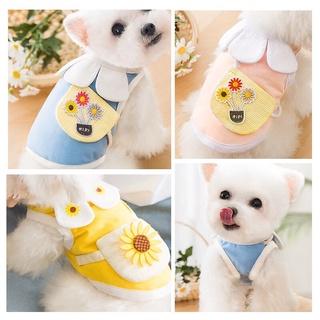 Áo cổ hoa kèm túi cho thú cưng thumbnail