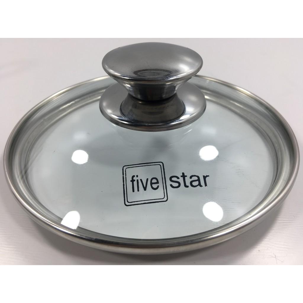 Nồi nấu bột, nấu cháo inox 3 đáy FIVE STAR 14cm - Hàng loại 1 dày dặn, sáng bóng, siêu bền