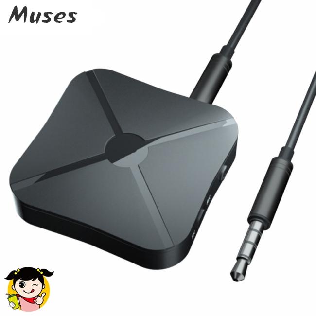 Bộ thu phát âm thanh không dây Bluetooth 4.2 2 trong 1 cho loa máy phát nhạc máy tính bảng đa năng