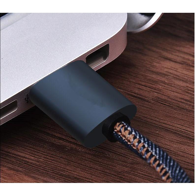 Cáp sạc Lighting Apple Jean Style hỗ trợ truyền dữ liệu, chip điều chỉnh dòng điện 1M - 3603463 , 1048296639 , 322_1048296639 , 110000 , Cap-sac-Lighting-Apple-Jean-Style-ho-tro-truyen-du-lieu-chip-dieu-chinh-dong-dien-1M-322_1048296639 , shopee.vn , Cáp sạc Lighting Apple Jean Style hỗ trợ truyền dữ liệu, chip điều chỉnh dòng điện 1M