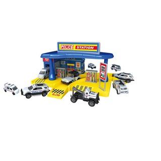 Đồ chơi xây dựng Trạm cảnh sát khu vực Six-six-zero 660-A101
