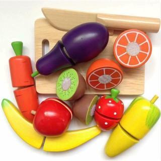 Giá So Hottt Bộ hộp đồ chơi cắt hoa quả nhật