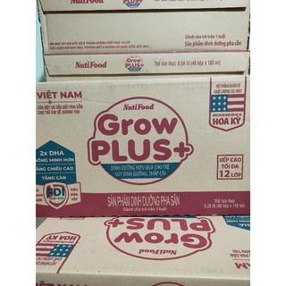 sữa bột pha sẵn grow plus 110ml mẫu mới date mới nhất
