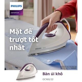 Bàn ủi khô Philips GC160 – HÀNG CHÍNH HÃNG – BH 2 NĂM