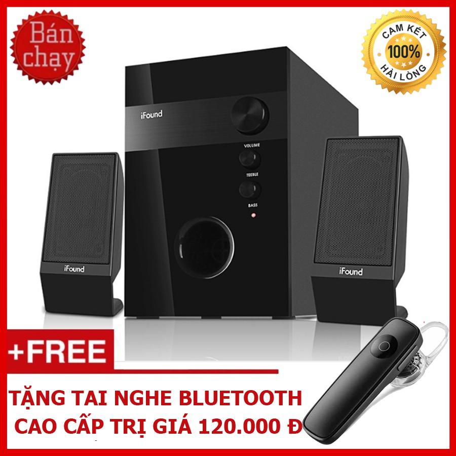 Bộ Loa Máy Tính Để Bàn 2.1 Công Suất 15W iFound F08 + Tặng Tai Nghe Bluetooth Cao Cấp - 3358578 , 1097753603 , 322_1097753603 , 1400000 , Bo-Loa-May-Tinh-De-Ban-2.1-Cong-Suat-15W-iFound-F08-Tang-Tai-Nghe-Bluetooth-Cao-Cap-322_1097753603 , shopee.vn , Bộ Loa Máy Tính Để Bàn 2.1 Công Suất 15W iFound F08 + Tặng Tai Nghe Bluetooth Cao Cấp